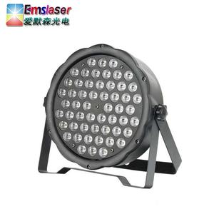 Sound Disco Lights RGBW 54 1W Party Stage Decoration Led Flat Par Light