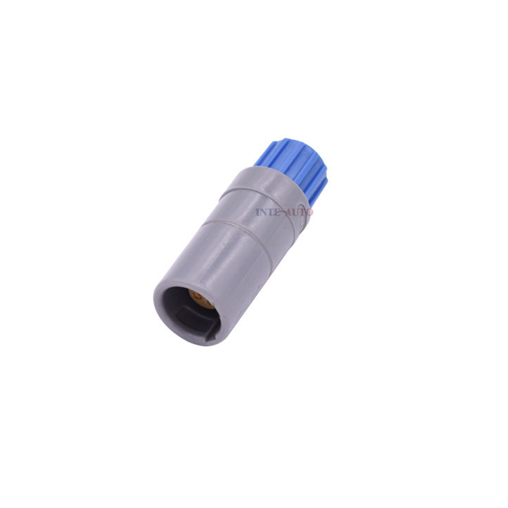 Stanexco 4 Pin Plastic socket in line push pull self-locking medical Connector P-ZRG.M0.4,red/blue/green/yellow/gray/black nut