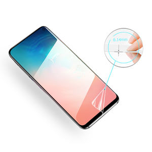 Factory supplier TPU film for Samsung anti-scratch soft guard 3d curved Screen Protector For Galaxy S10 Lite