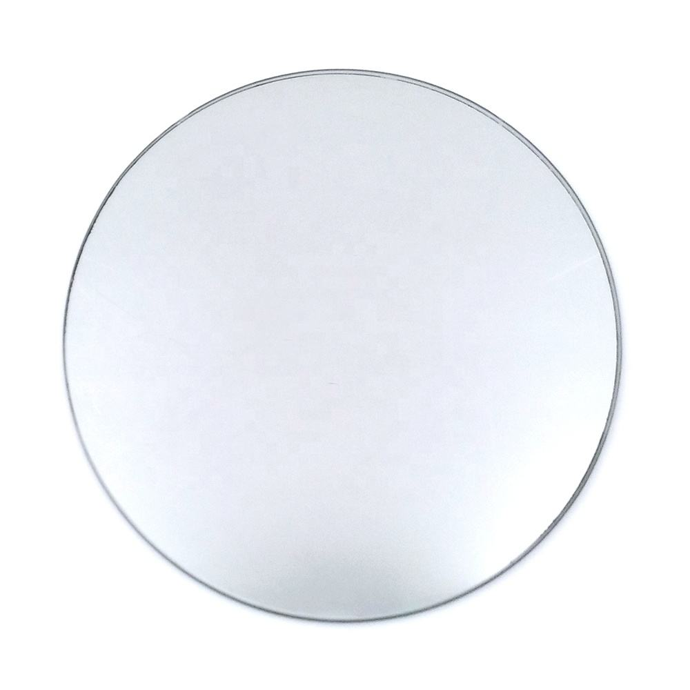 1.3mm square small customized shape round mirrors in different sizes
