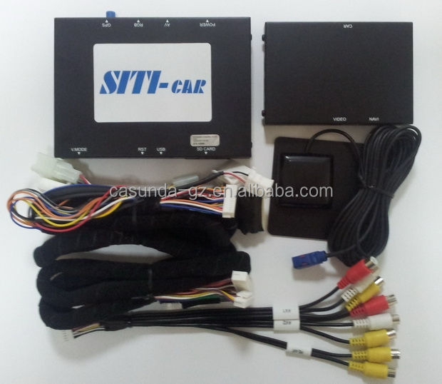 Car gps box navigation for TOYOTA, multimedia video interface for TOYOTA