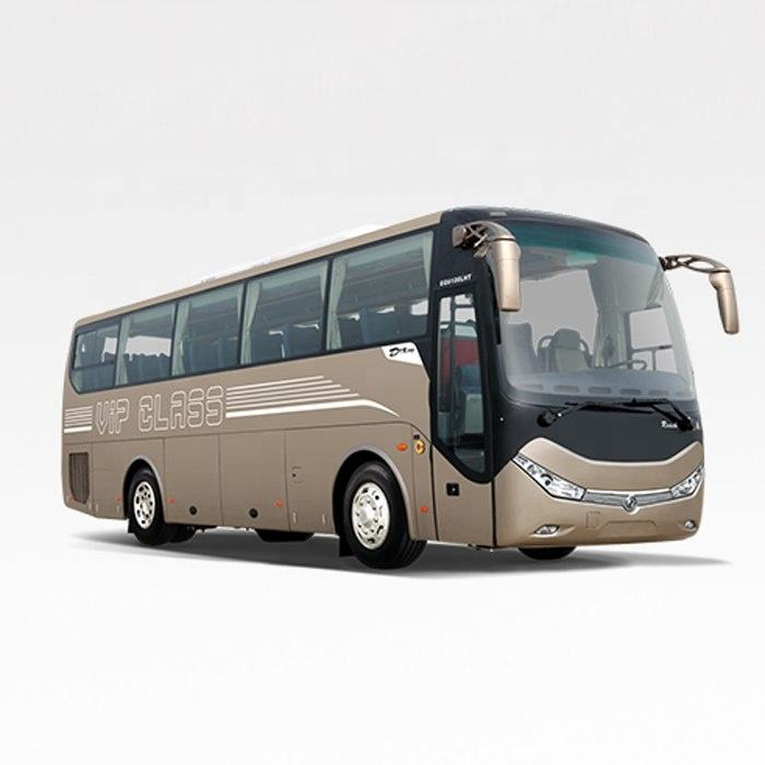 price of new luxury tour passenger dongfeng coach bus for sale
