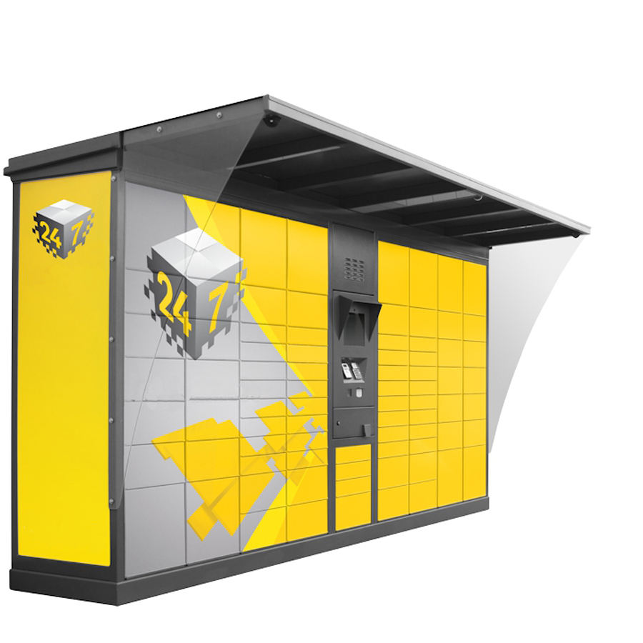 smart parcel delivery locker for school