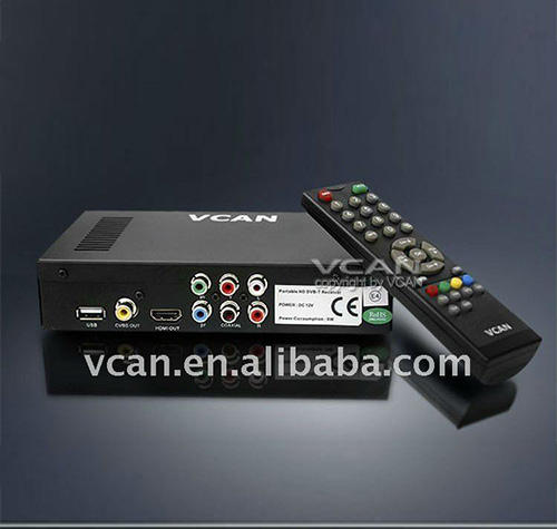 internet penerima satelit dongle DVB-T2009HD-646 portabel hd mobil digital dvb-t receiver dengan 250 km / jam