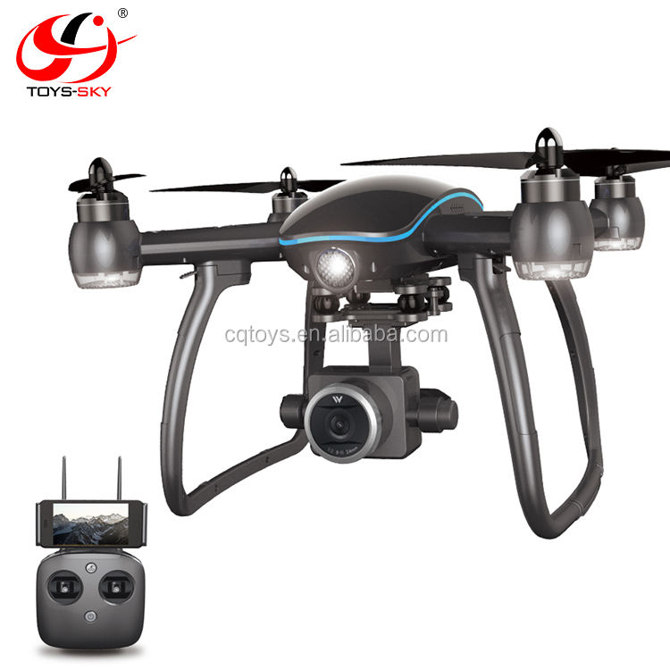 Wolvy 5.8G WIFI FPV GPS Borstelloze Krachtige Drone 4 K High Power Motor Met 1080 P hd Camera PK b2w