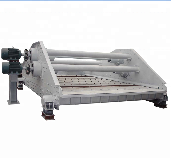 low price linear vibrating screen dewatering machine dehydrated medium screen
