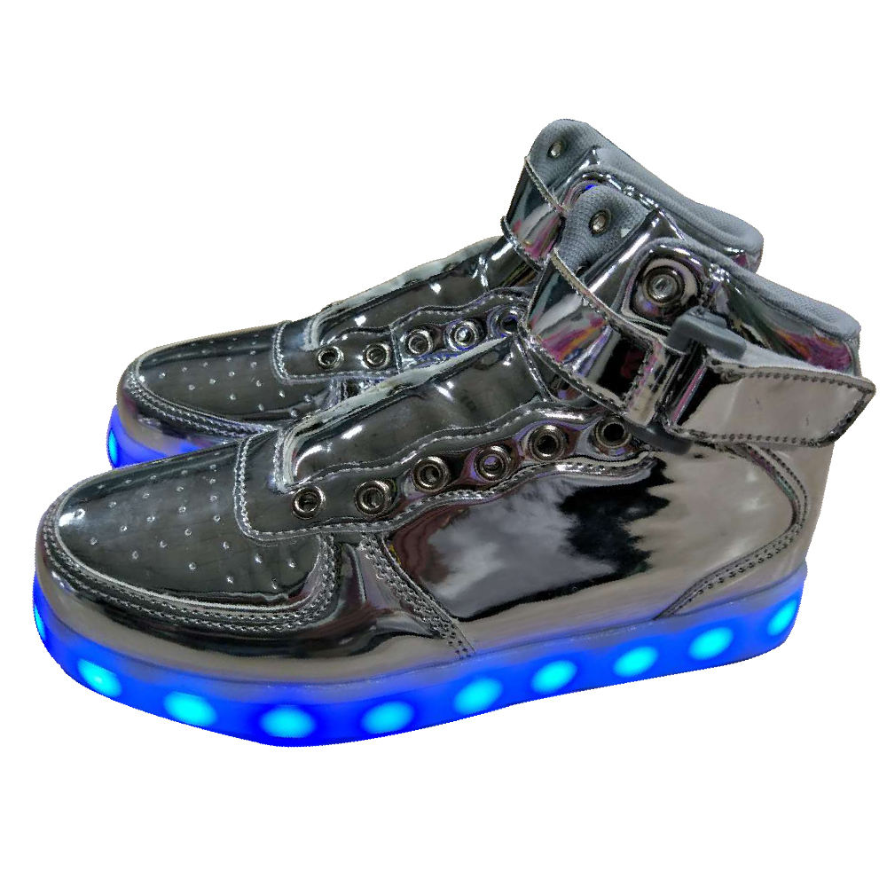 Led stile air force lampeggiante pattini a rotelle scarpe patines all'ingrosso