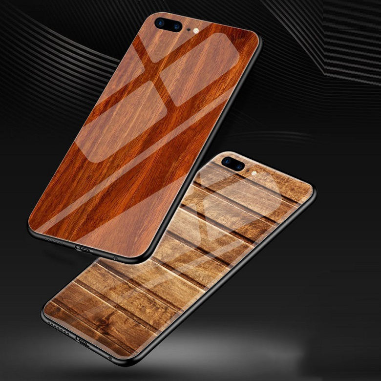 Amazon top selling luxury wood pattern tempered glass phone case for iphone xs max