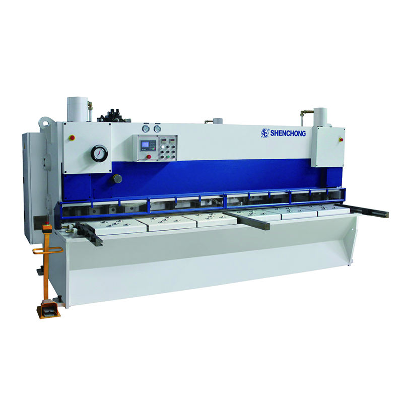 CNC automatic manual electric hydraulic mechanical guillotine steel plate sheet metal cutting shearing machine price