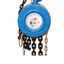 3Tx3m HSZ type 3 ton chain pulley block manufacturer