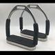 stainless steel horse stirrups with rubber pad Horse equipment equestrian