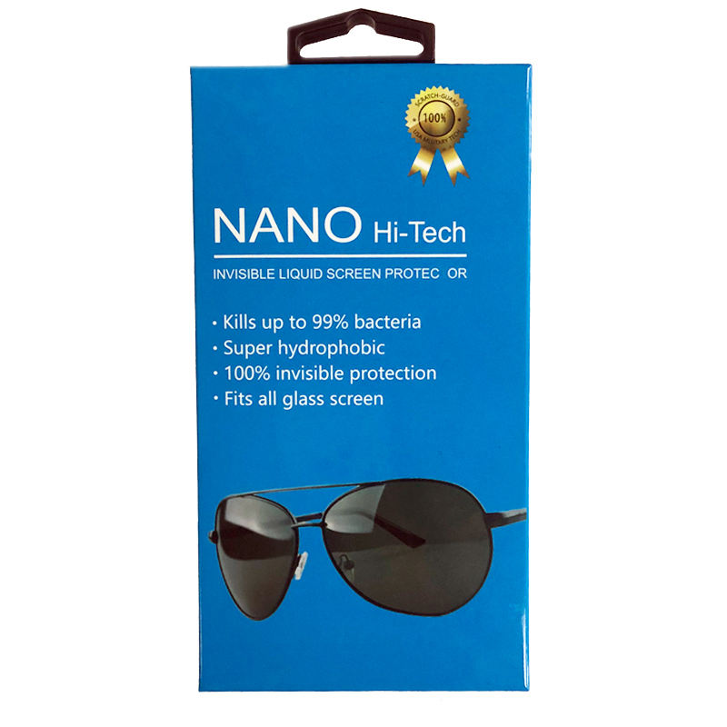 2019 Hot Selling Nano Hi-Tech Liquid Glass screen Protector for Eyeglass Maintains Perfect Visibility Throughout the day