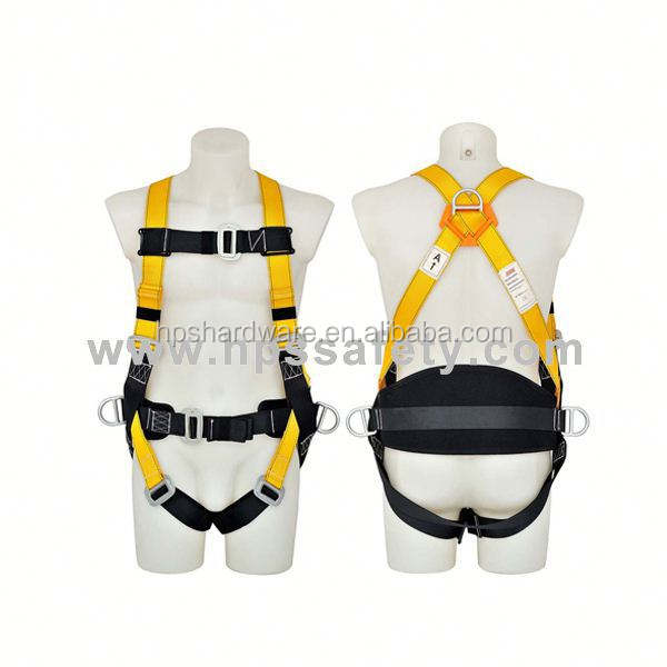 china Polyester 4 point racing harness safety seat belt for Roof Work