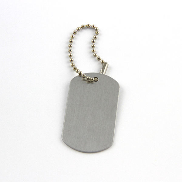 Cheap Cut Out Silver Metal Dog Tags Blank