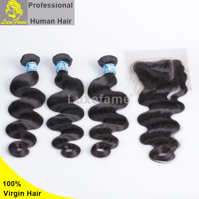Pretty popular on instagram free sample 10 inch body wave brazilian hair
