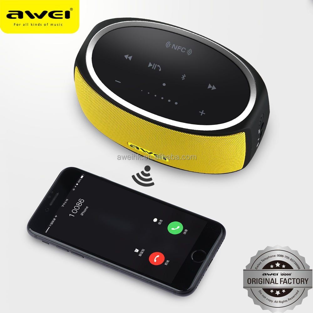 Talking gifts AWEI Y210 Build-in 2200mAh battery waterproof wireless bluetooth speaker