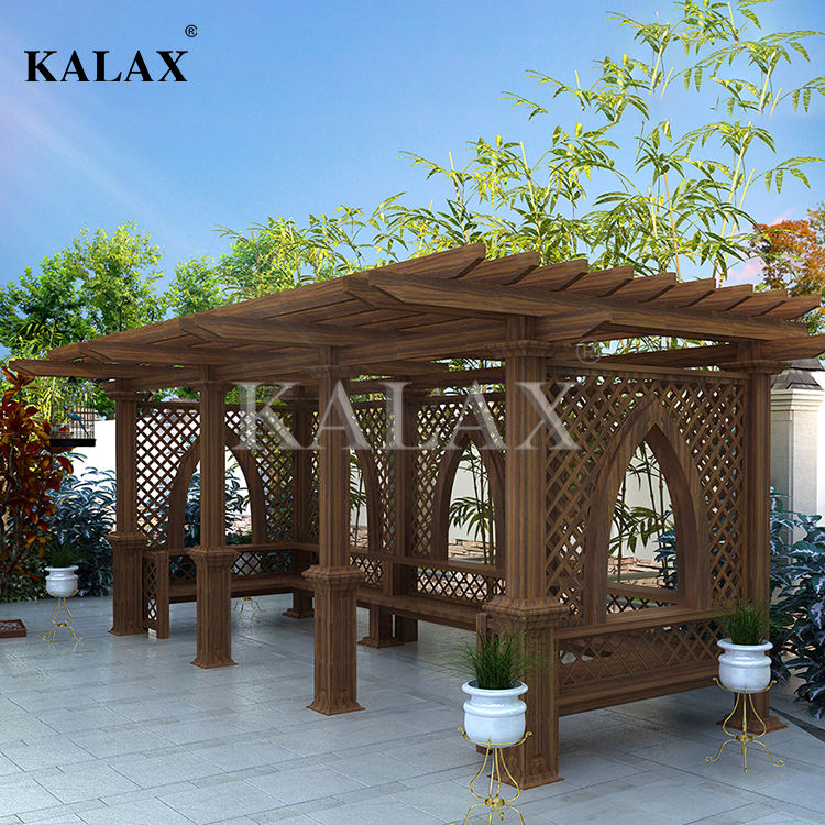 Upgraded Aluminum Fence Trellis with secured and stable structure for only factory price