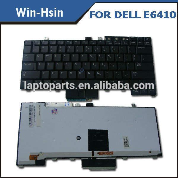 のための新しいデルのラップトップのキーボードライトe6410アップを用いた鍵のバックライトキーボード