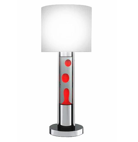 Red Lava Plus Table Lamp