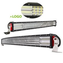 "Newest High Power 15"" 22"" 32"" 42"" 52"" Inch 24Volt Curved Barra Led Bar 4x4 Truck Car Offroad Led Light Bar"