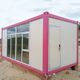 40ft prefab one bedroom italy 2-story shipping container house