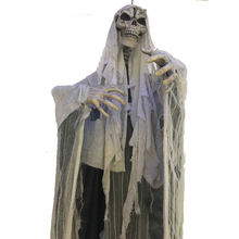 Halloween Animated Props Life Size Skeleton Halloween Ghost Hanging