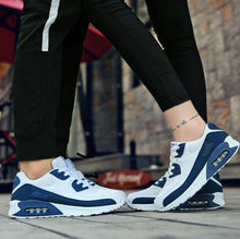 Trendy Couple Shoes Thick-soled Air-cushioned Running Board Shoes