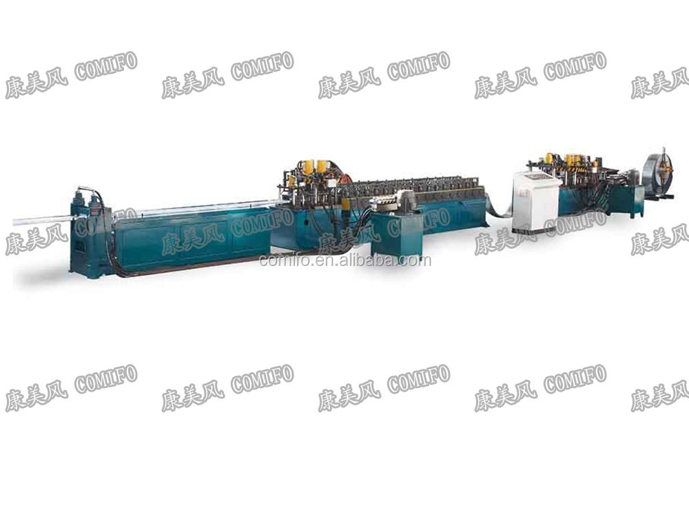 HVAC Duct Multifuctional Volume Control Damper Frame Roll Forming Machine
