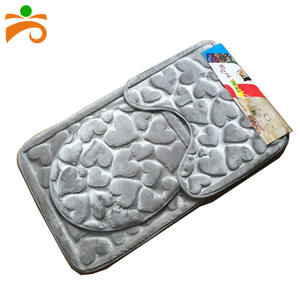 Soft Absorbent Memory Foam Bathroom Anti-slip Carpets Bath Mats Rug