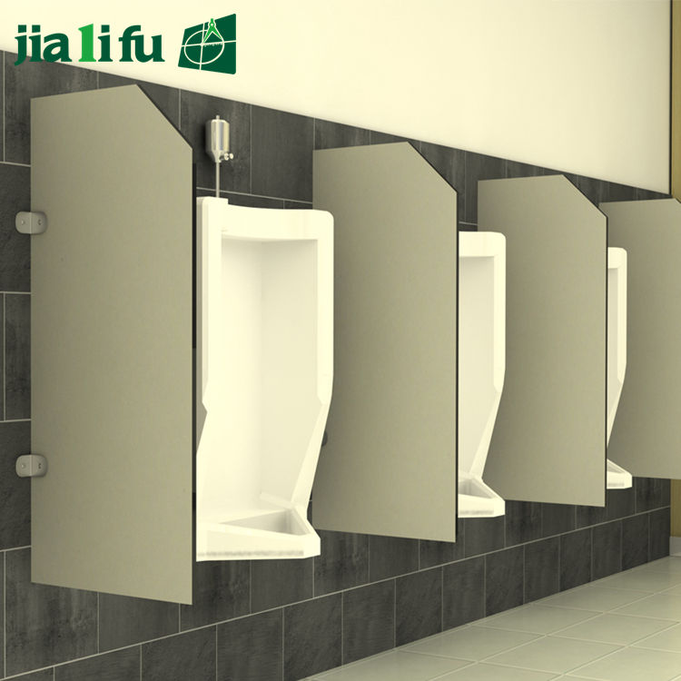 Laminated board partition wall male toilet partitions divided urinals