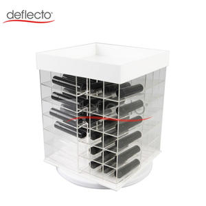 Acrylic Rotating Lipstick Holder  Lipstick Display Stand  4 Sides
