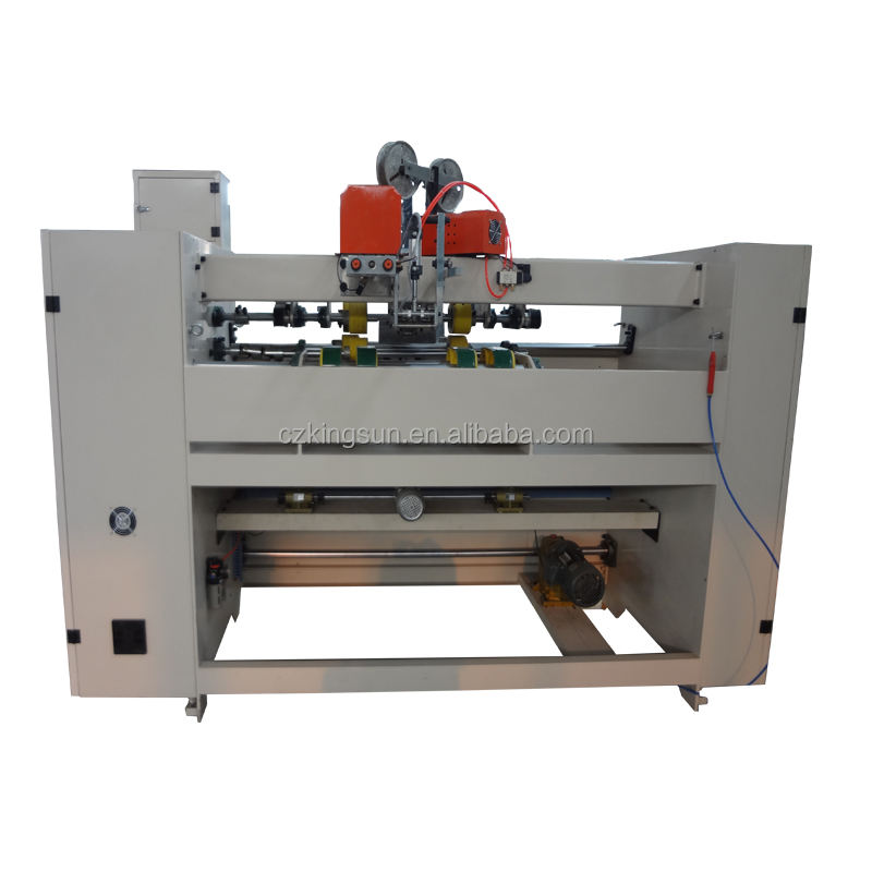 carton box stitching machine price