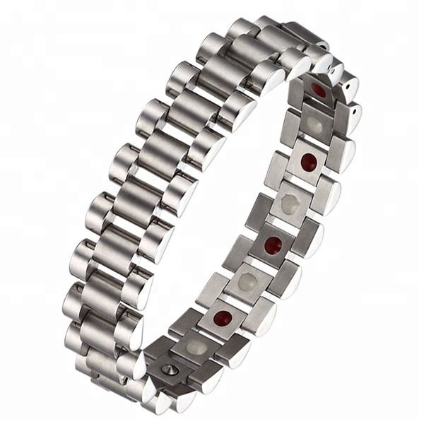 classic high quality brand band stainless steel magnetic bracelet