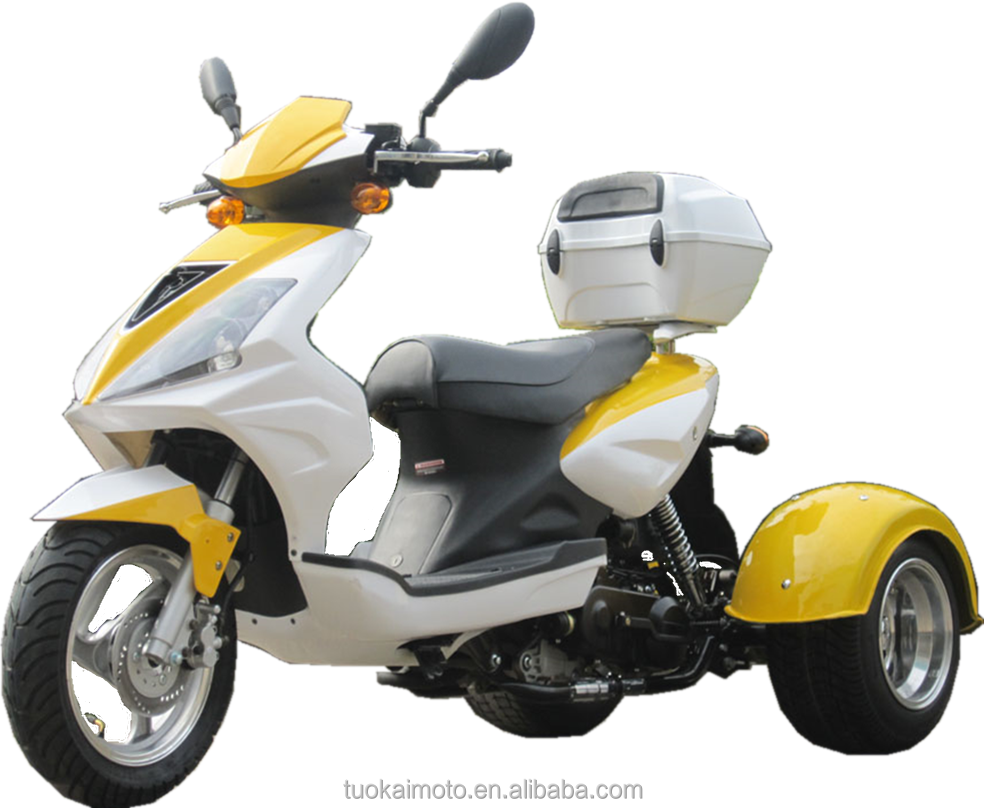 <span class=keywords><strong>50cc</strong></span> benzinli trike scooter (TKM50E-3B)