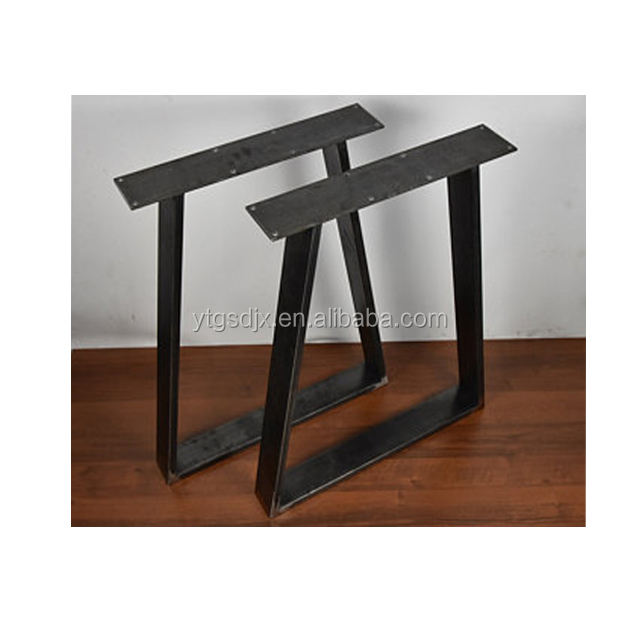 custom multiple table legs black steel stands metal bases for table