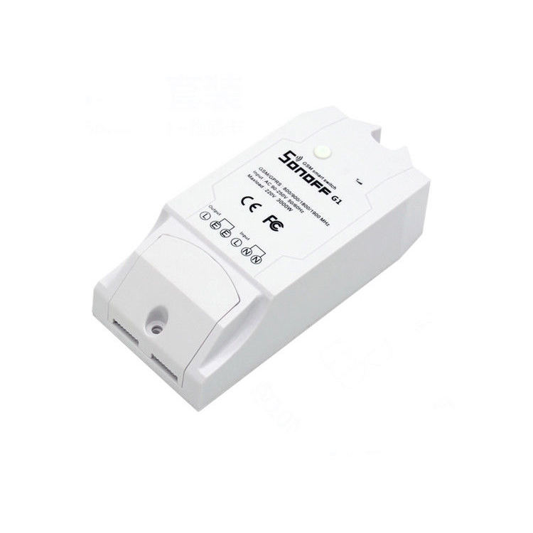 Sonoff G1 GSM Mobile Phone GPRS Smart Remote Control Switch 와 알렉사 둥지