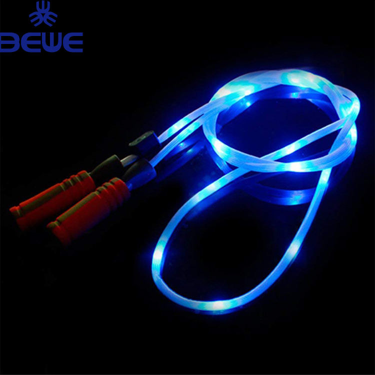 Light Up LED Jump Rope Colorful Glow Skipping Rope