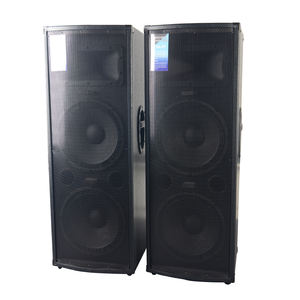 Professional multimedia karaoke wooden 2.0 Stage Speaker box audio system
