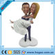 Custom Your Own Bobblehead Personalized Bride and Groom Wedding Cake Toppers
