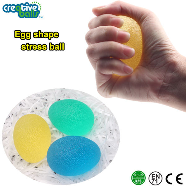 Wholesale jelly TPR gel stress ball use for Fitness Hand Exerciser For Hand