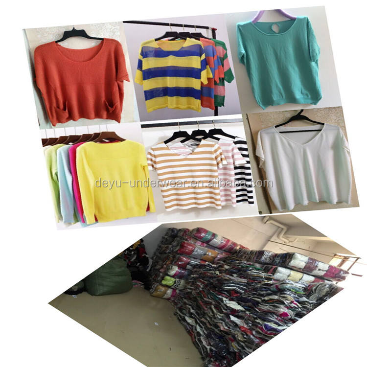 0.75 Dollars GDZW787 Wholesale cheap mixing summer spring winter knitting tops of wholesale clothing, clothing, woman clothing