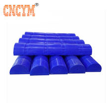 HDPE Floating Pontoon semicircle plastic float ball blowing mold