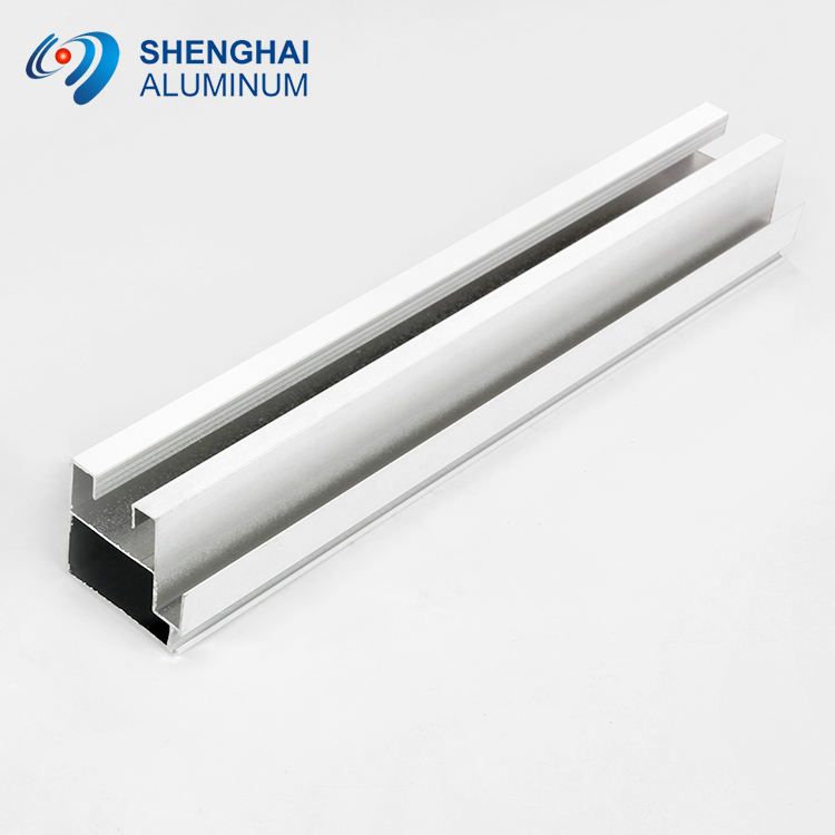 India Aluminum Window Section Door Extrusion Shapes Profiles Front Door Aluminum Track Frame
