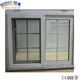 cheap house windows for sale tempered glass window/brown bulletproof glass window