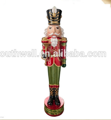 custom life size 6ft christmas nutcracker soldier figurins ornaments for sale