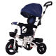 Russisa 4 in 1 Baby Walker Tricycle with Light/Music for 2-4 Years Old Kds Foldable Baby Stroller Tricycle