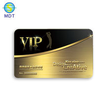 plated gold color metal credit card