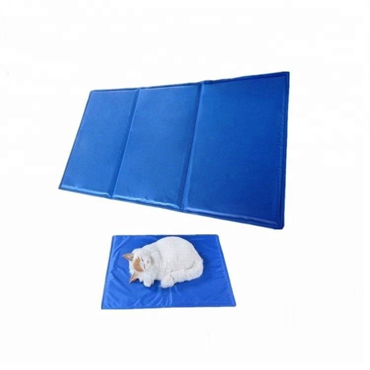 Self-cooling PET GEL ICE PAD bed cooling mats for cats and dogs