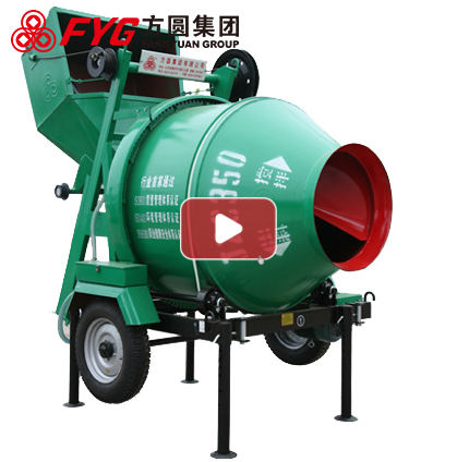 Alibaba china supplier mobile concrete mixer with pump JZC350