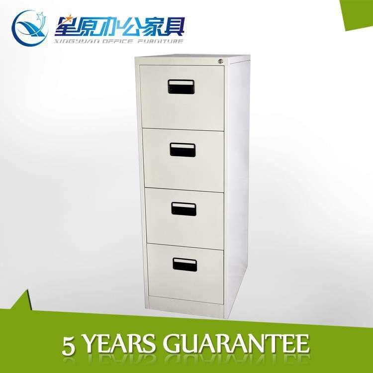 durable barato clásico diseño de metal de la oficina del gabinete de archivo con 4 cajones
